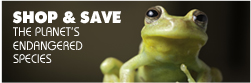 Shop and save the planet's endangered species at Fabriah.com