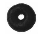 Black Doughnut Ring