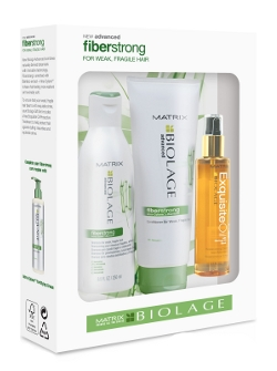 Matrix Biolage Fiberstrong For Week Fragile Hair Set