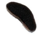 Hair Tools UPDO Single Clip Brown
